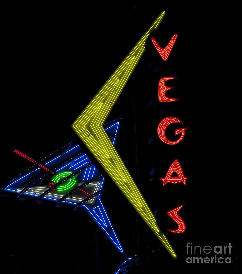 Las Vegas Neon Sign Painting