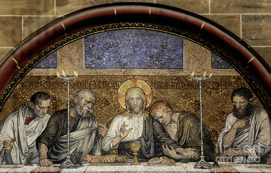 Affliction Photograph - Last Supper Of Christ by Adrian Hancu