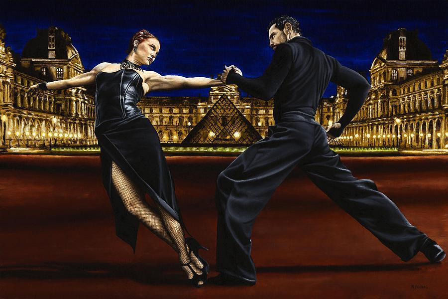 Last Tango In Paris Painting