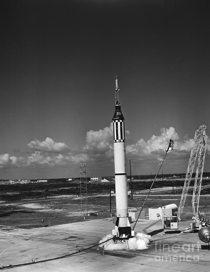 The Launch of Mercury-Redstone | NASA