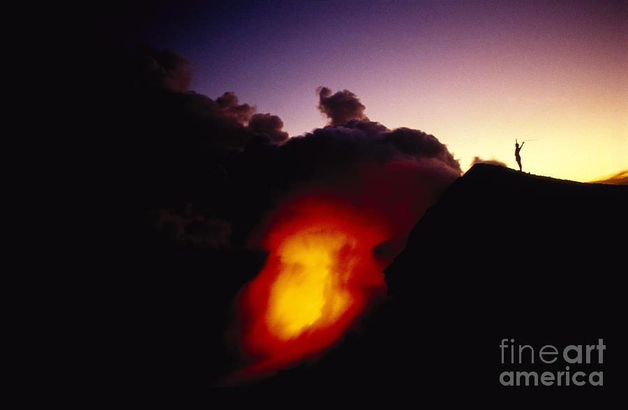 Amaze Photograph - Lava At Dawn by Ron Dahlquist - Printscapes