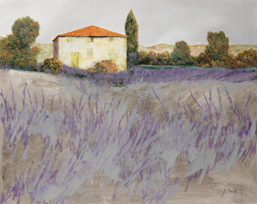 Lavender Painting - Lavender by Guido Borelli
