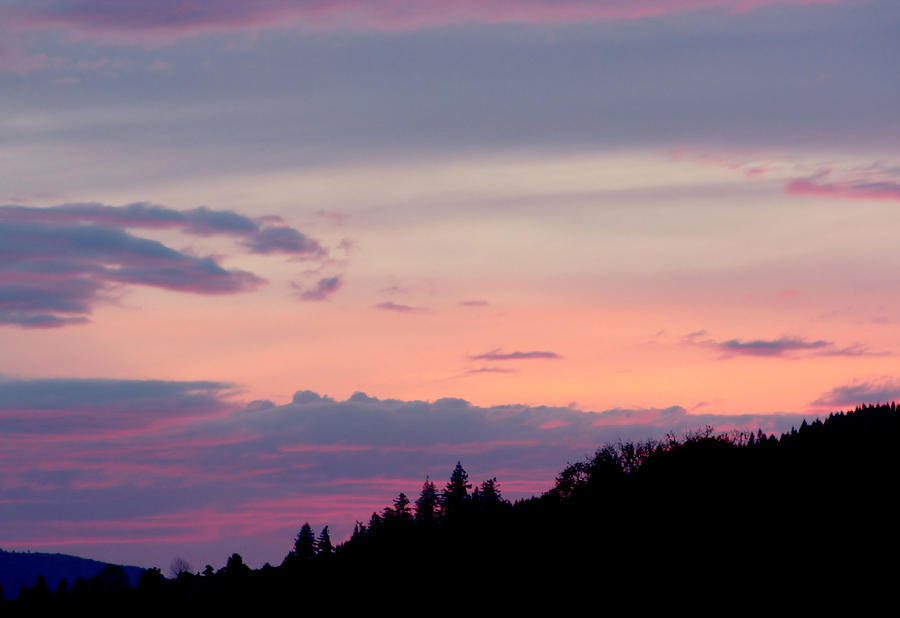 Lavender Skies Photograph - Lavender Skies by Nick Gustafson