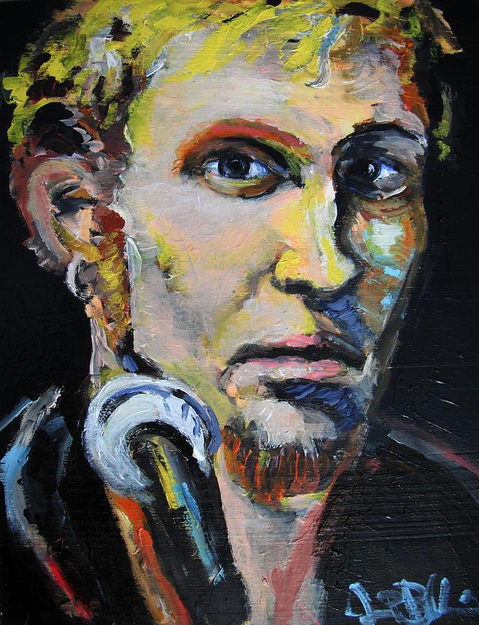 Layne Painting - Layne Staley by Jon Baldwin  Art