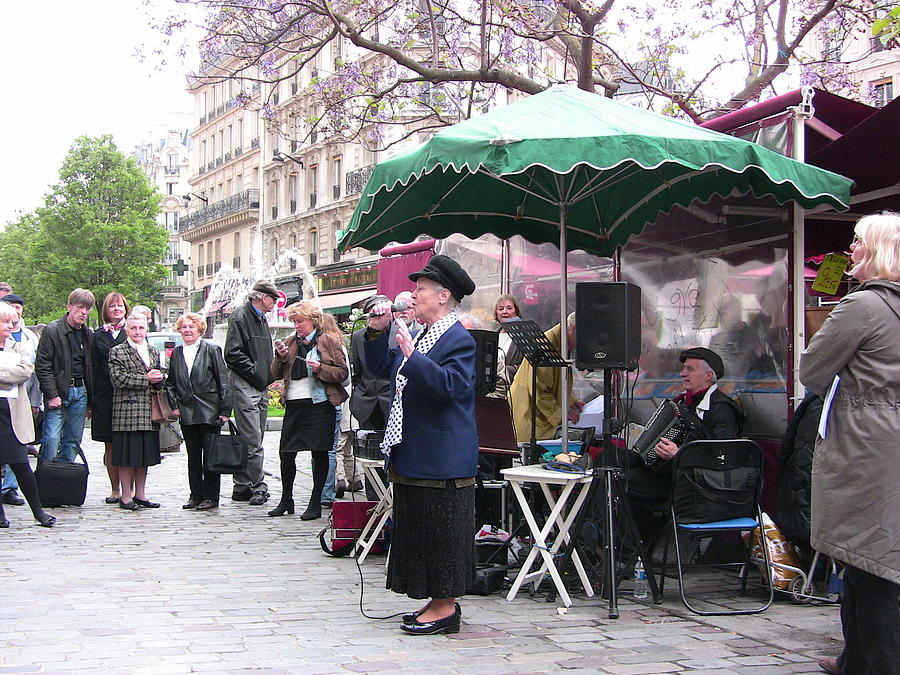 Paris Photograph - Le Avenue Mouffetard by Lori  Secouler-Beaudry