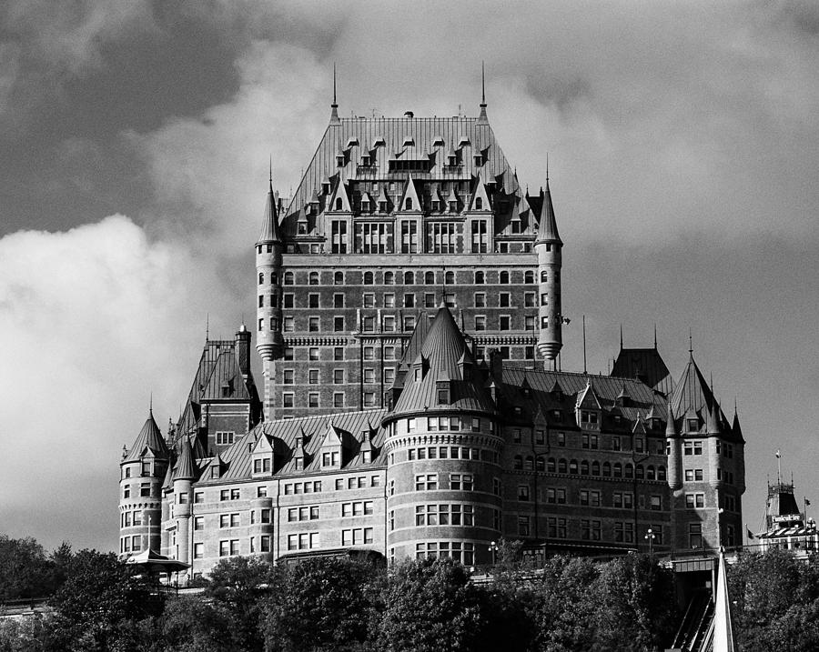 North America Photograph - Le Chateau Frontenac - Quebec City by Juergen Weiss