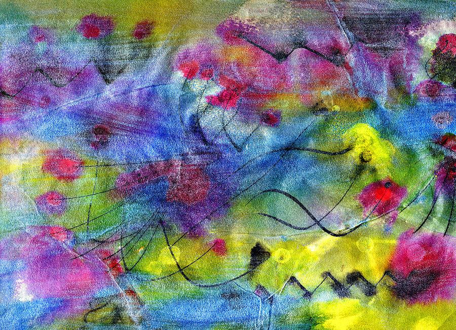 Leap Of Faith Painting Painting - Leap Of Faith by Don  Wright
