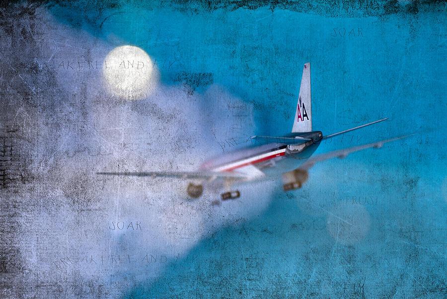 Plane Photograph - Leavin On A Jet Plane by Rebecca Cozart