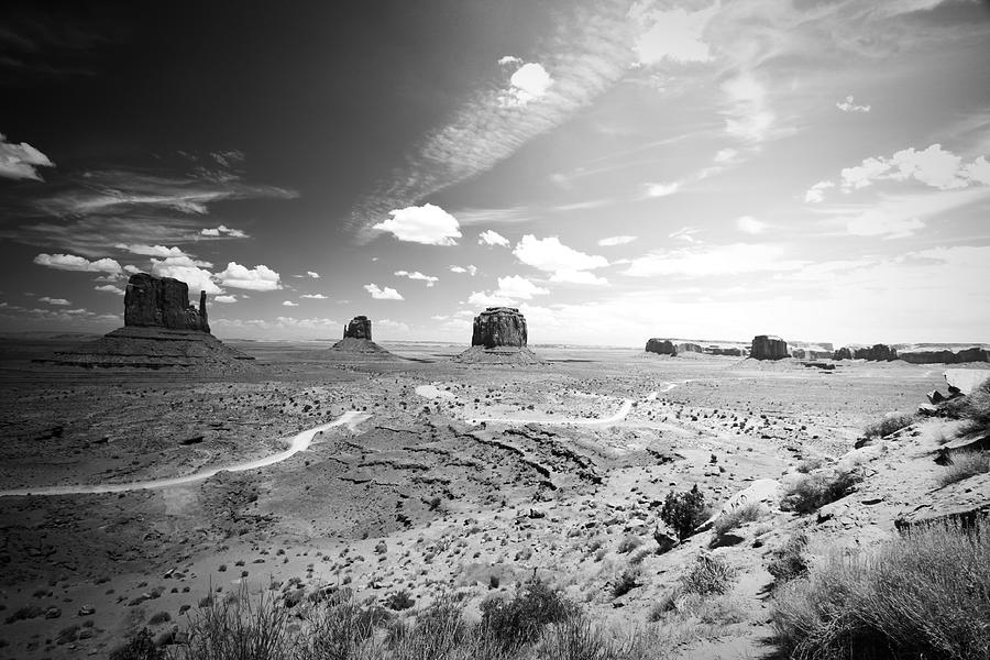 ryankellyphotography@gmail.com Photograph - Left And Right Mittens And Merrick Butte by Ryan Kelly