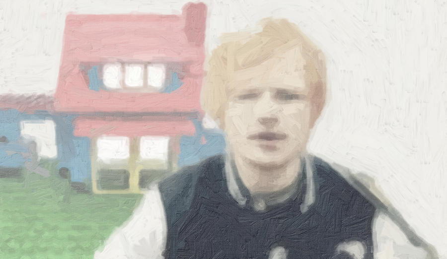 Ed Sheeran Painting - Lego House by Tilly Williams