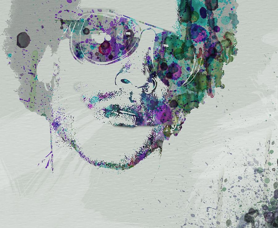 Painting - Lenny Kravitz by Naxart Studio