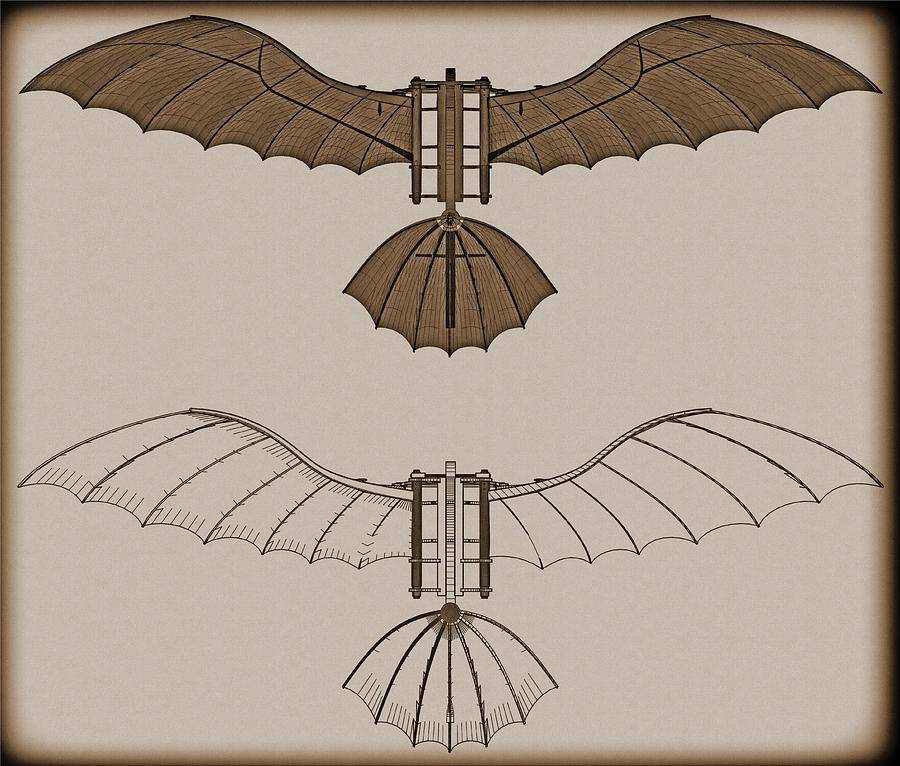 the flying machine leonardo da vinci