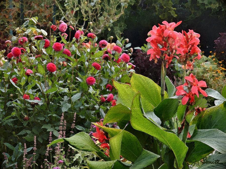 Les Fleurs De Honfleur Photograph