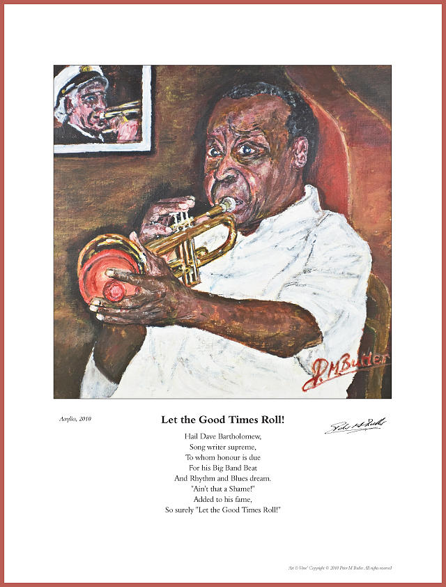 Paintings Painting - Let The Good Times Roll by Peter Mark Butler