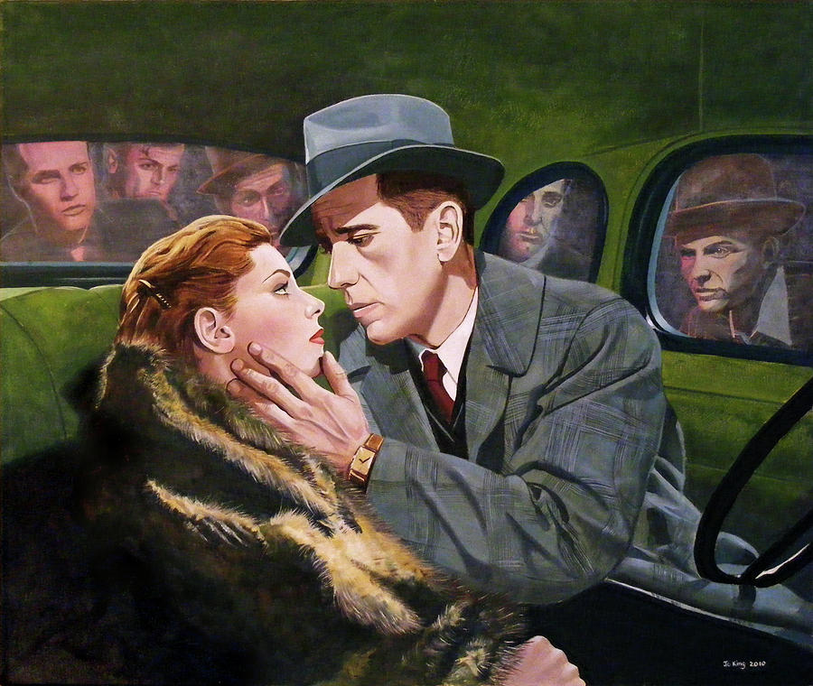 Humphrey Bogart Painting - Lets Get Away From It All by Jo King