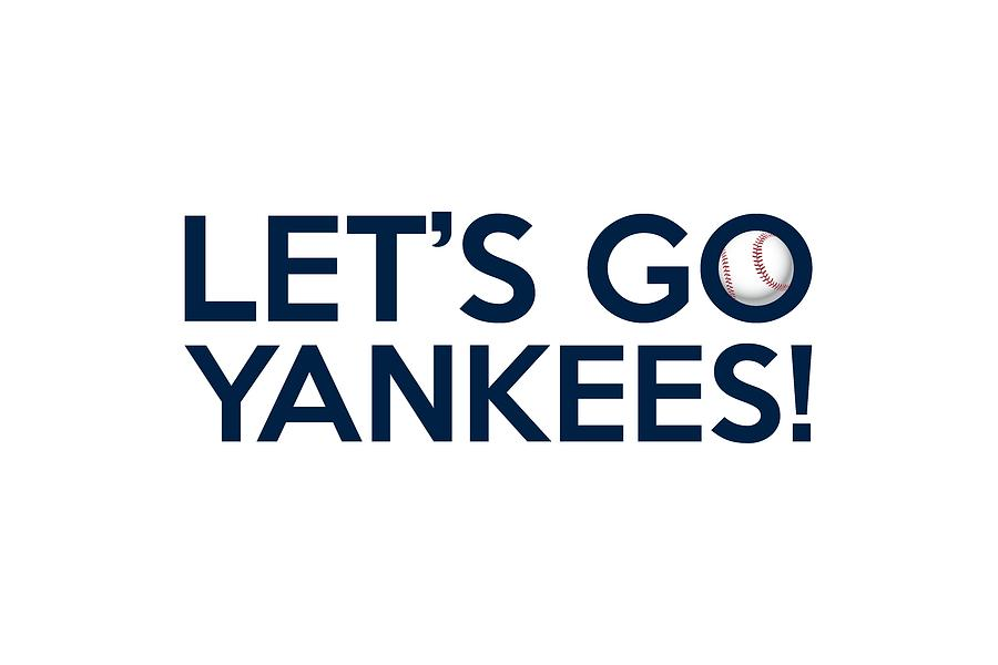 Let S Go Yankees Painting By Florian Rodarte