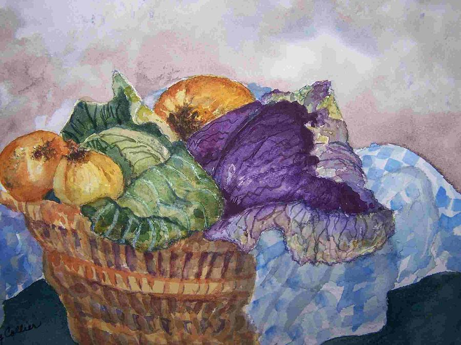 Warm Painting - Lets Make Soup by Sandy Collier