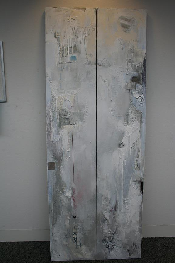 Door Painting - Letting Go by Sherry Leigh Williams