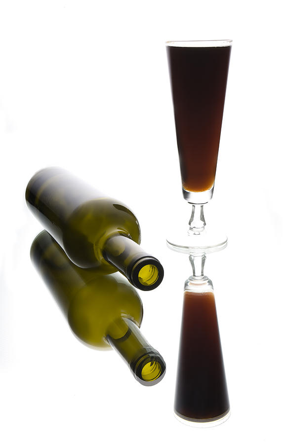 Bottles Photograph - Libation 2 by Patrick Ziegler