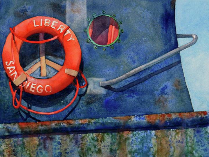 Patriotism Painting - Liberty by Codie Carman