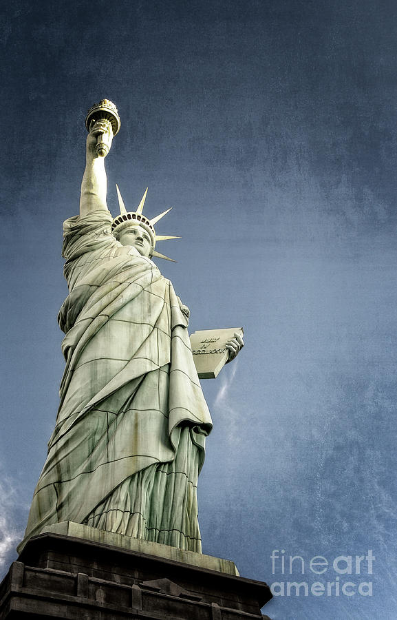 American Photograph - Liberty Enlightening The World by Charles Dobbs