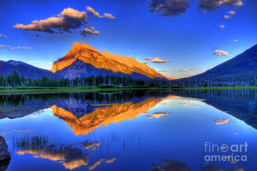 Mountain Photograph - Lifes Reflections by Scott Mahon