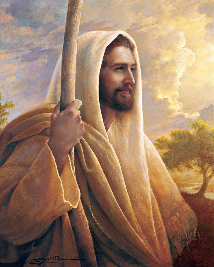 Light Of The World Painting - Light Of The World by Greg Olsen