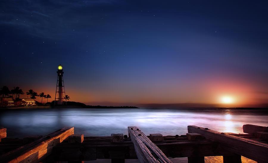 Lighthouse Sunrise Photograph