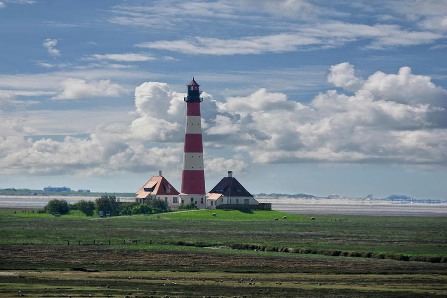 Lighthouse Westerheversand Photograph