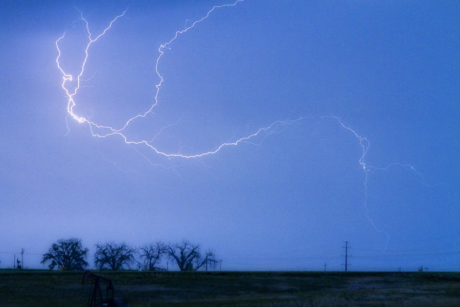 Colorado Photograph - Lightning Crawler by James BO  Insogna