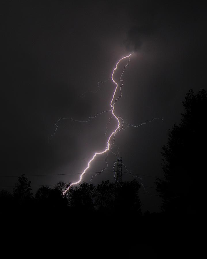 Lightning Strikes Photograph