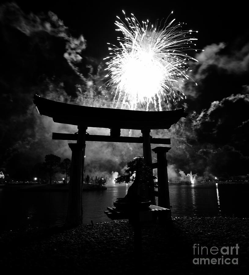 Japan Photograph - Lights Over Japan by David Lee Thompson