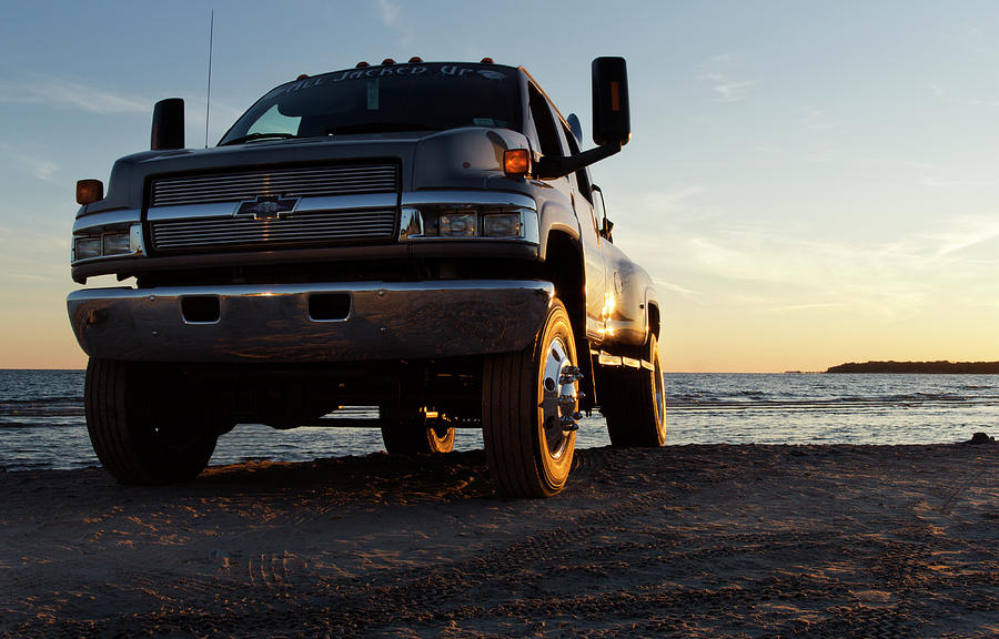 Chevy Photograph - Like A Rock by Peter Chilelli