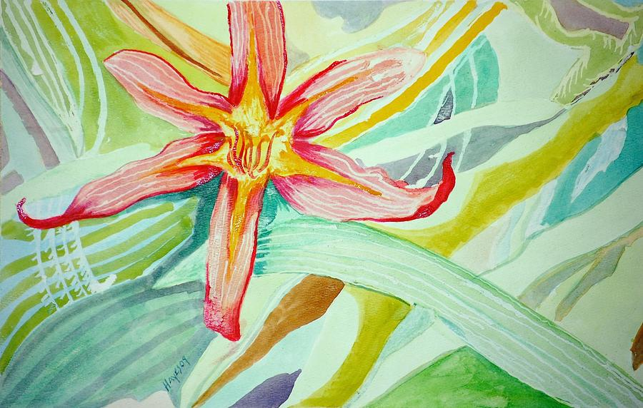 Flower Painting - Lilly  by Jame Hayes