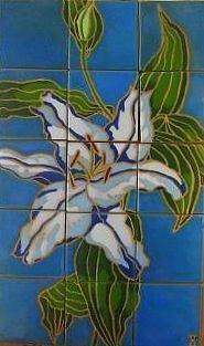 Flora Ceramic Art - Lily by Yana Yatsyk