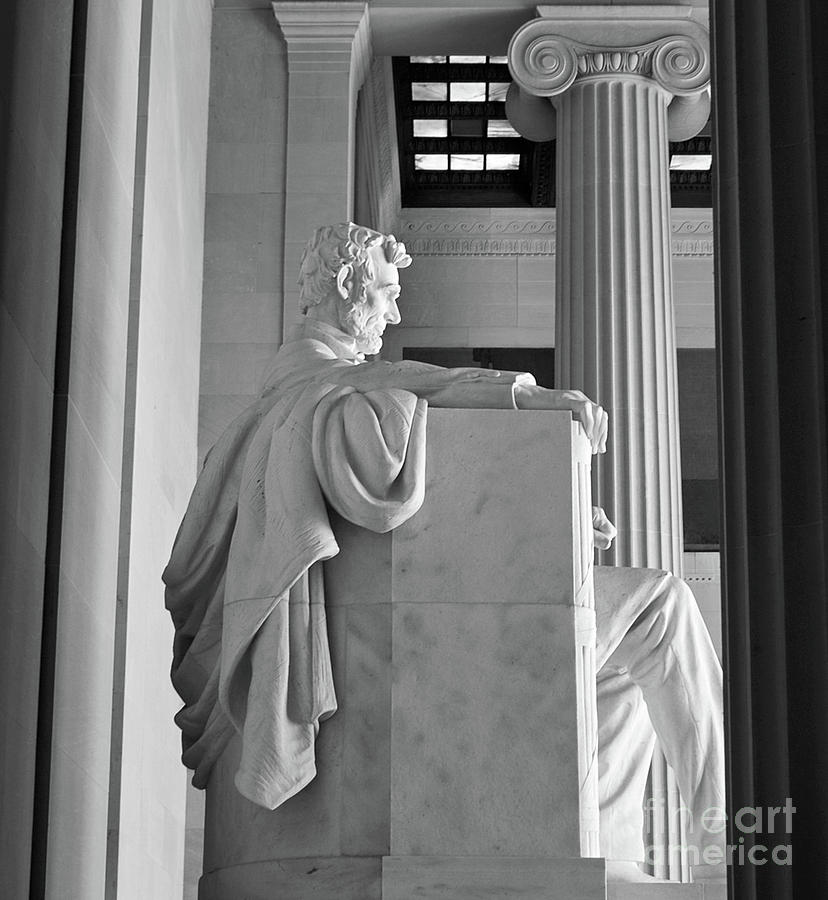 Lincoln Memorial Interior Washington Dc Photograph