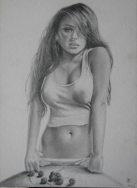 super sexy naked girls drawing