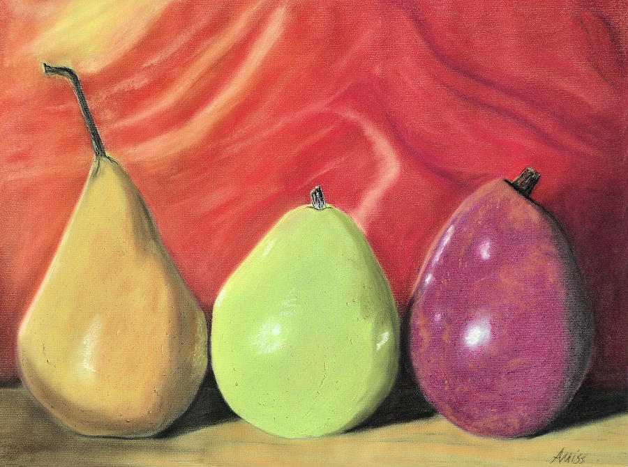 Still Life Pastel - Line Up by Jan Amiss