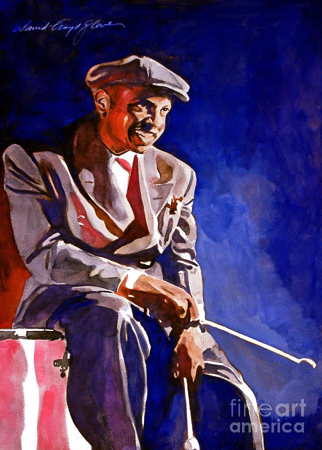 Lionel Hampton Painting - Lionel Hampton  by David Lloyd Glover