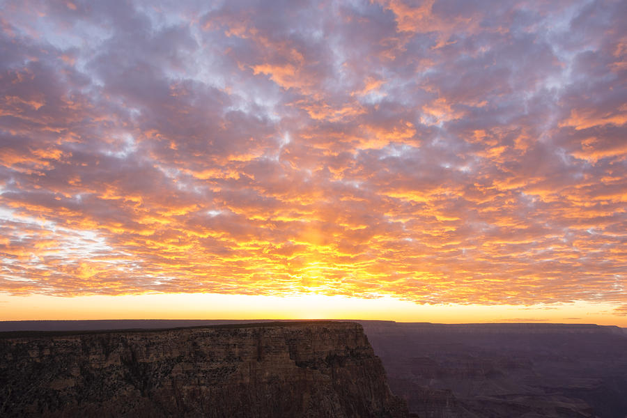 Lipon Point Sunset Grand Canyon National Park Arizona Az Photograph - Lipon Point Sunset 3 - Grand Canyon National Park - Arizona by Brian Harig