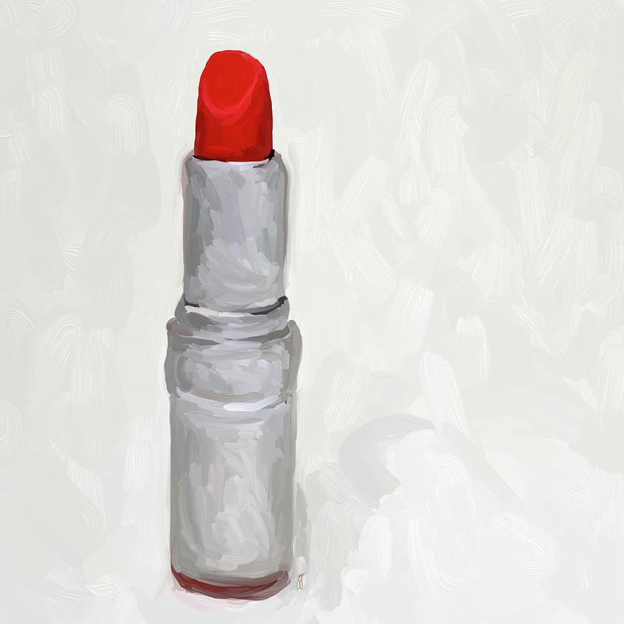 Lipstick Painting - Lipstick II by Jai Johnson