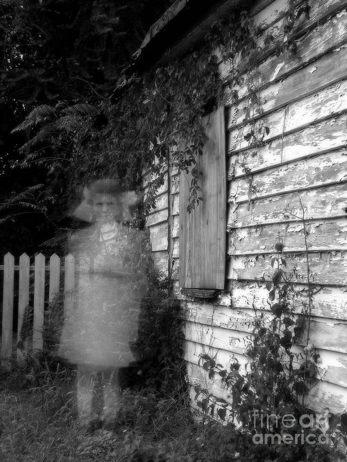 Little Girl Ghost Digital Art
