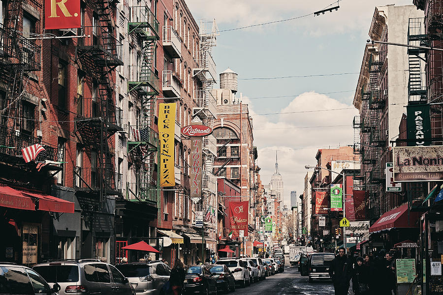 New York City Photograph - Little Italy by Benjamin Matthijs