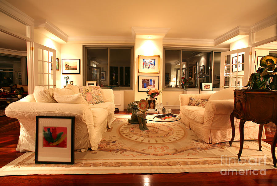 Living Room Photograph - Living Room IIi by Madeline Ellis