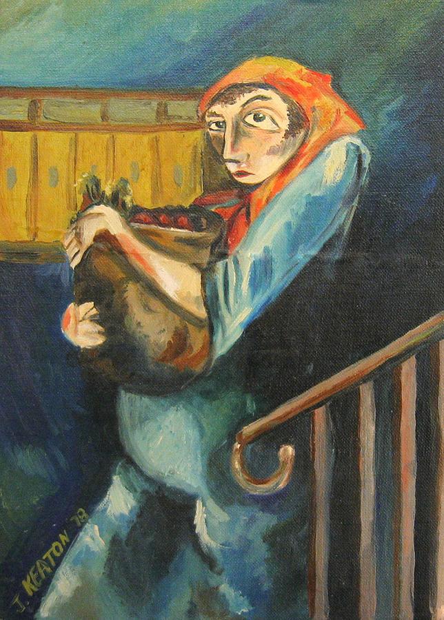 Lizzie Meyer Painting - Lizzie Meyer by John Keaton