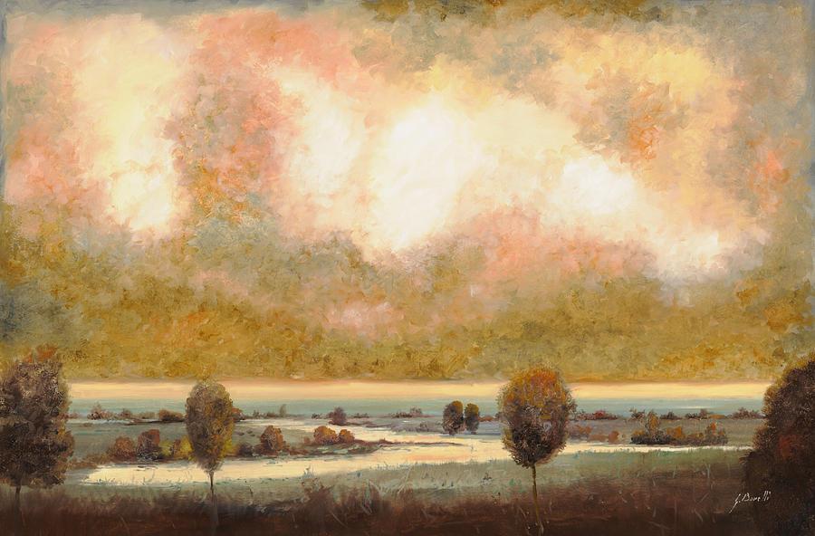 Lo Stagno Sotto Al Cielo Painting