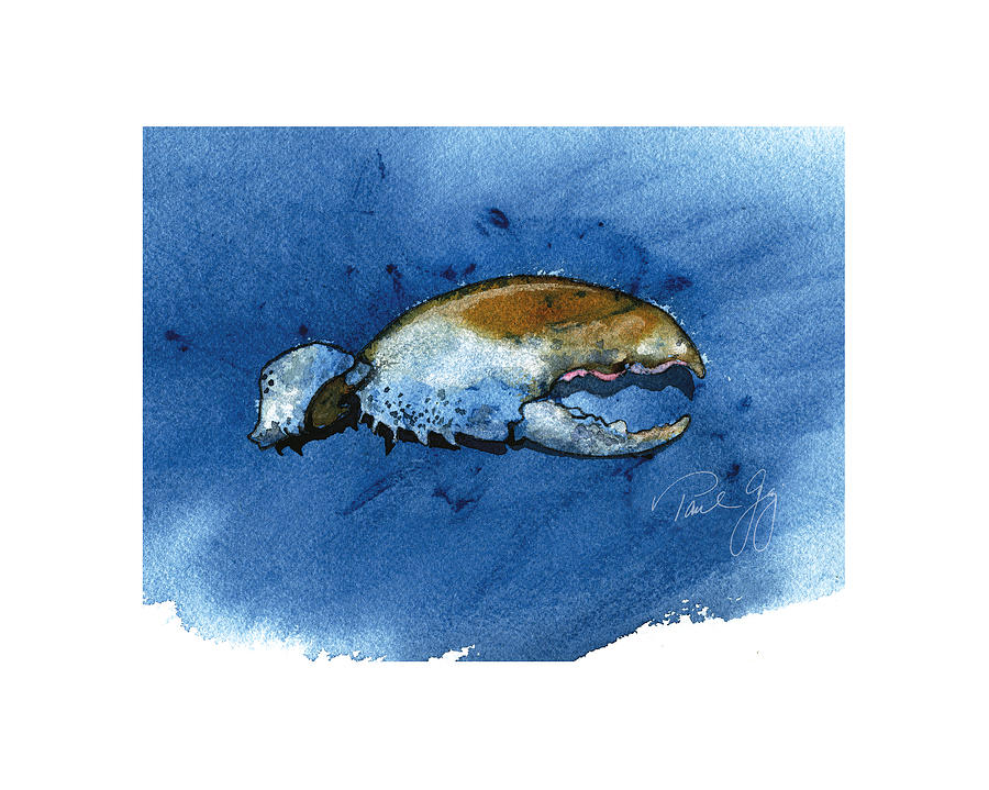 Lobster Claw Painting - Lobster Claw by Paul Gaj