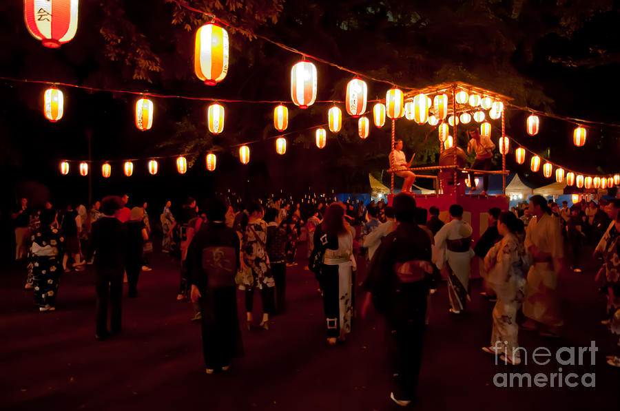 Japan Photograph - Local Festival by Andy Smy