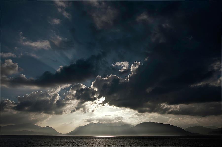 Loch Linnhe Photograph - Loch Linnhe Sunset by Mark Denham