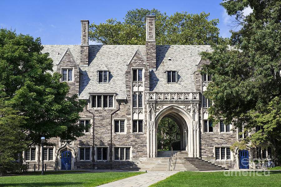 Ivy League Photograph - Lockhart Hall Princeton  by John Greim
